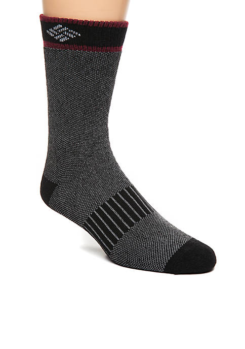 2-Pack Birdseye Wool Crew Socks