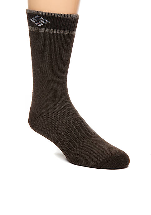Columbia 2-Pack Birdseye Wool Crew Socks