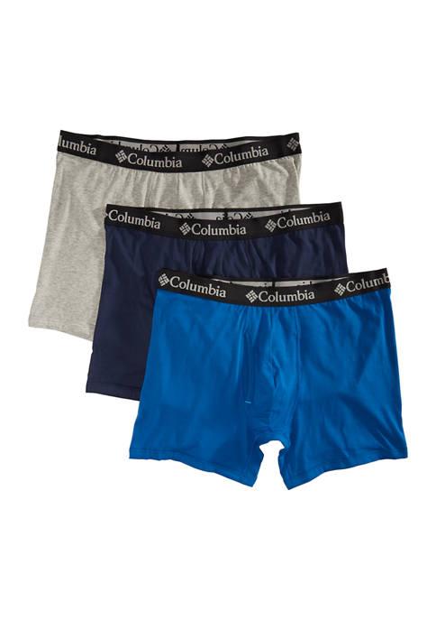 Cotton Boxer Briefs - 3 Pack