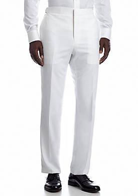 Slim White Suit Separate Pants
