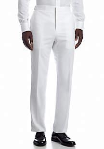 Savile Row Slim White Suit Separate Pants