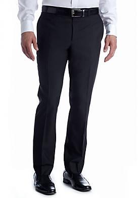 Solid Suit Separate Pants