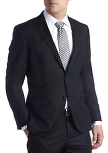 Fitted Solid Suit Separate Coat