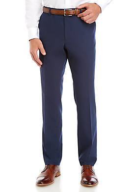 Blue Bi Stretch Slim Fit Suit Separate Pants