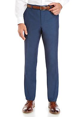 Cobalt Blue Stretch Modern Fit Suit Separate Pants