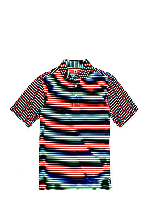 Southern Proper Short Sleeve Perforated Polo