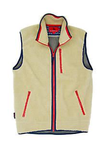 Old Glory Sherpa Vest