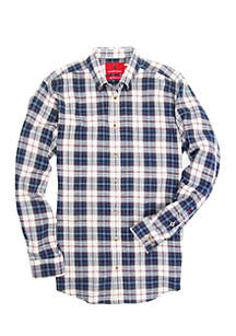 Long Sleeve Southern Flannel Shirt