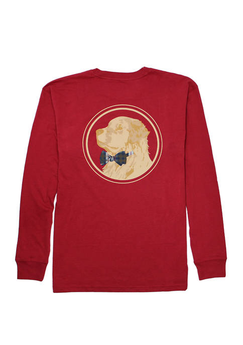 Southern Proper Golden Logo Graphic T-Shirt