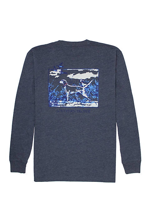 Southern Proper Sporting Life Long Sleeve Graphic T-Shirt