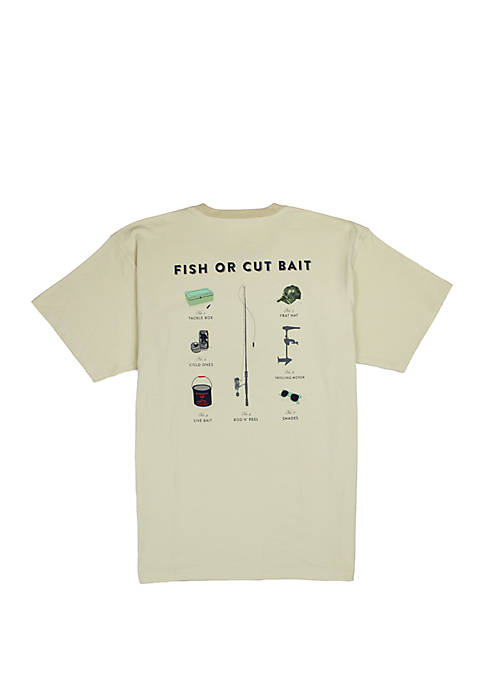 Southern Proper Mens Fish Or Cut Bait Short