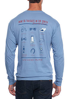 Southern Proper Long Sleeve Tailgate Proper Pointers Graphic Tee