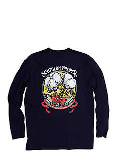 Southern Proper Long Sleeve Preppy Pickins Graphic Tee