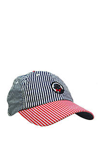 Southern Proper Stars and Stripes Frat Hat