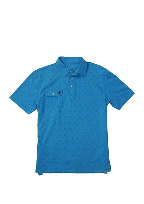 Short Sleeve Proper Polo