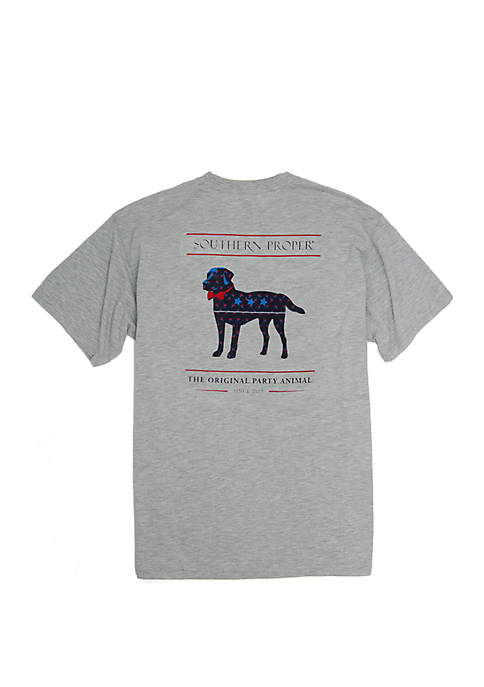 Southern Proper American Party Animal Short Sleeve T