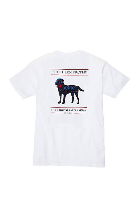 American Party Animal Short Sleeve T Shirt