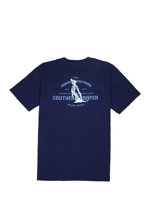 Southern Proper Mens Original Southern Co. Short Sleeve
