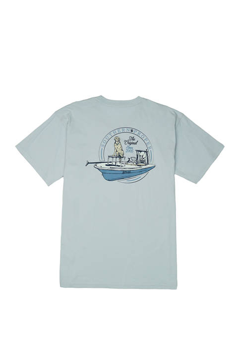 Southern Proper Mens First Mate Short Sleeve Graphic