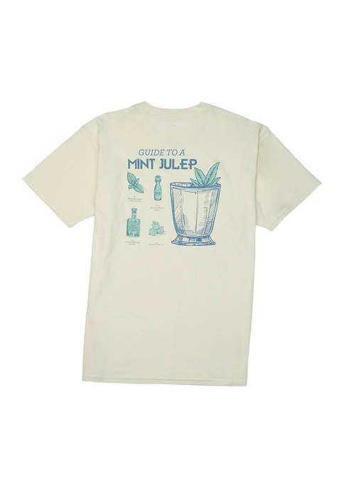 Guide to a Mint Julep Short Sleeve Graphic T-Shirt