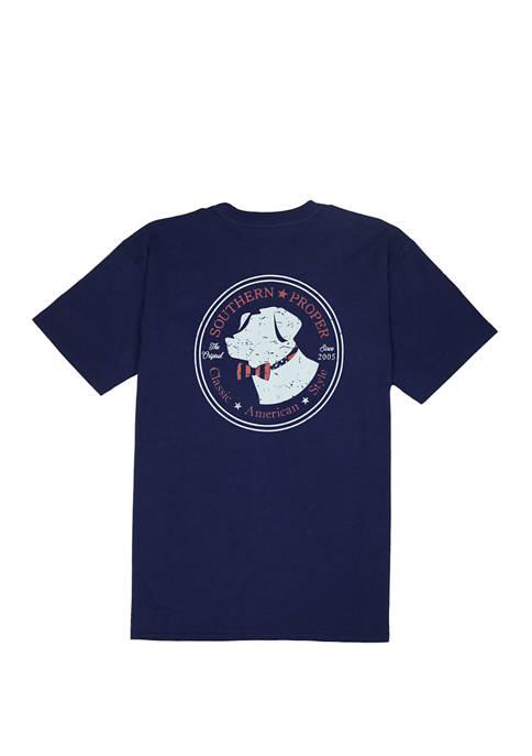 American Lab Short Sleeve Graphic T-Shirt