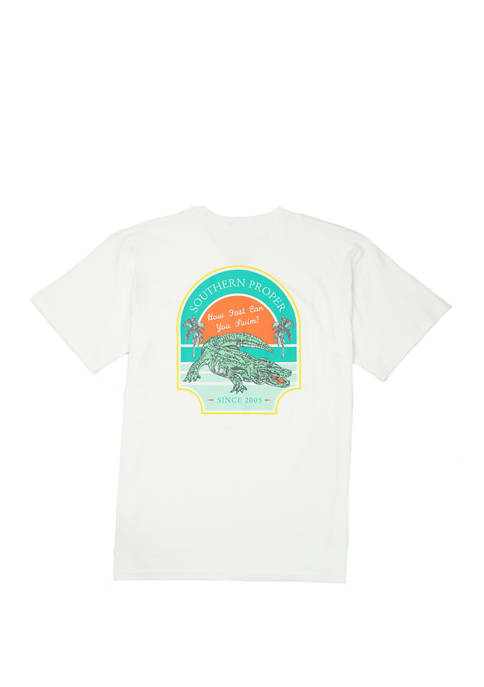 Southern Proper Mens How Fast Short Sleeve Graphic