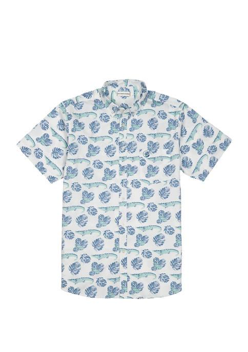 Southern Proper Mens Social Shirt