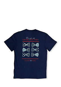 Short Sleeve Dressed For Party Graphic Tee