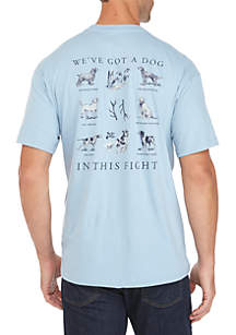 Dog in this Fight Short Sleeved Tee