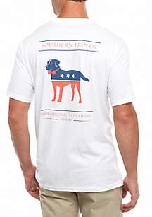 Short Sleeve Party Animal Graphic Tee