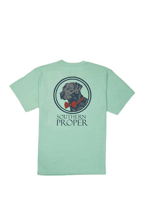 Southern Proper Mens Loyal Lab Short Sleeve Graphic
