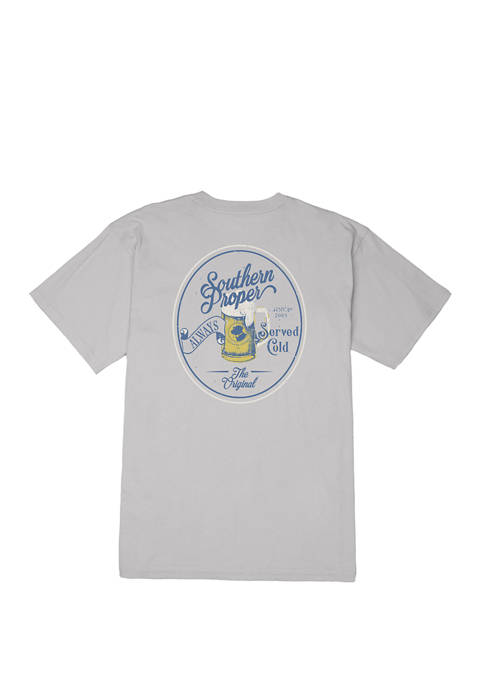 Mens Served Cold Short Sleeve Graphic T-Shirt