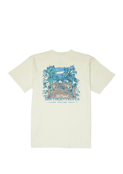 Southern Proper Mens Short Sleeve Proper Views Graphic