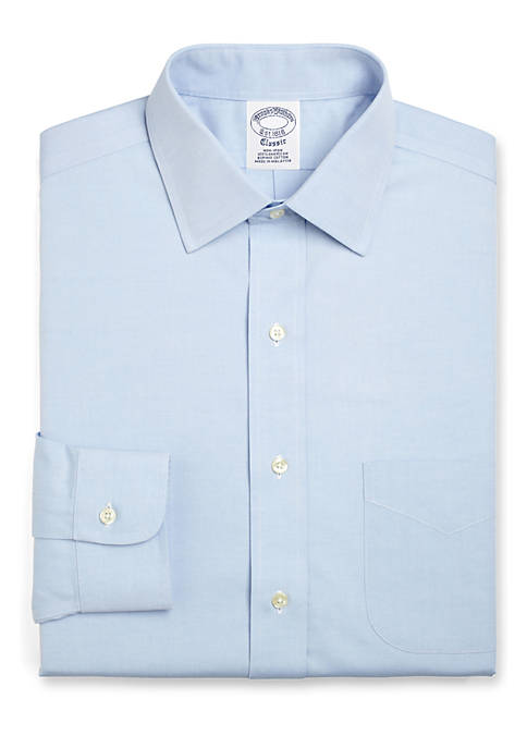 Brooks Brothers Blue Label Slim Fit Non-Iron Dress