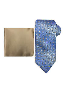 Neat Tie and Pocket Square Set