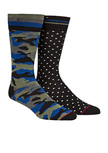 Set of 2 Camo Socks