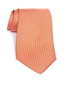 Multi Color Hexagon Geometric Print Necktie