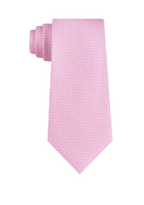 Michael Kors Digital Tonal Chevron Necktie