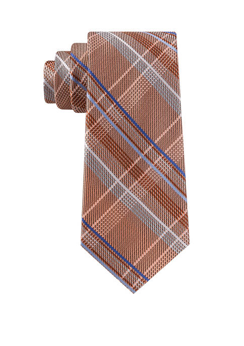 Michael Kors Vast Plaid Necktie