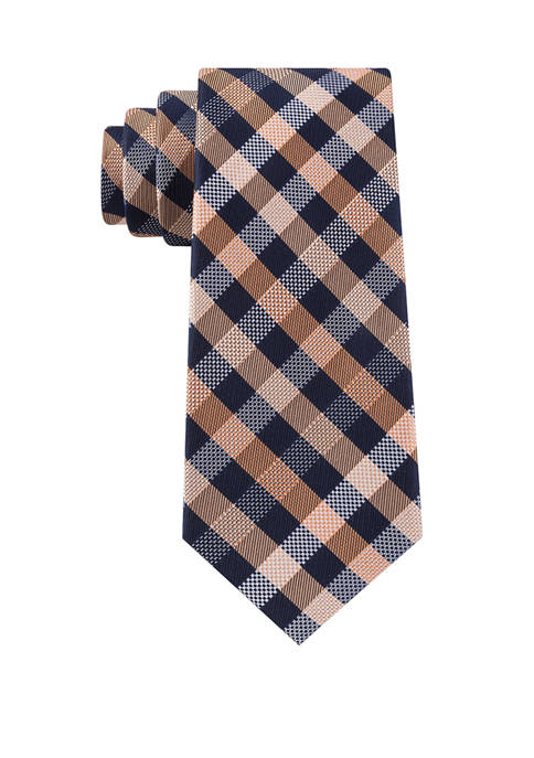 Michael Kors Spectrum Small Plaid Necktie