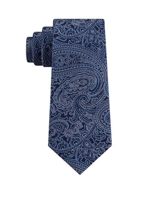 Michael Kors Mens Perfect Movement Paisley Necktie