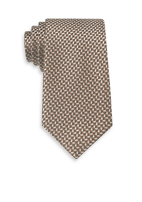 Michael Kors Linked Hexagon Neat Tie