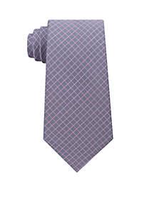 Mini Grid Necktie