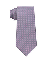 Four Point Square Neat Tie