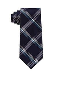 Extensive Plaid Necktie