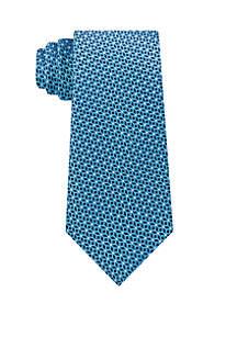 Michael Kors Cubic Pindot Geometric Tie