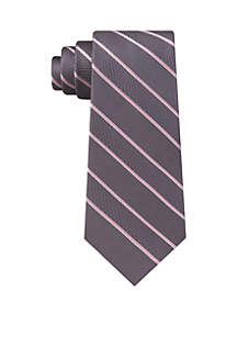 Multi Weave Satin Stripe Tie
