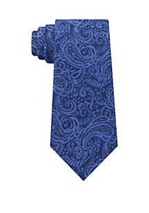 Embossed Look Paisley Tie