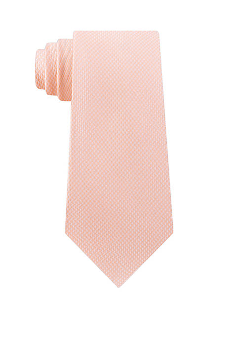 Michael Kors Unsolid Solid Puppy Tooth Tie