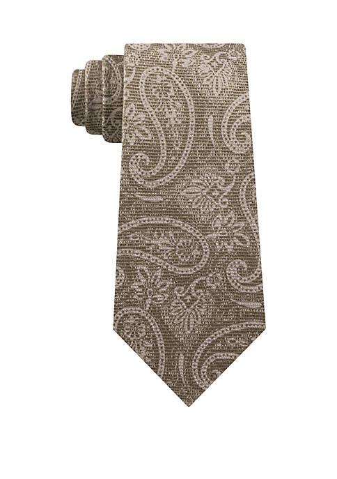 MICHAEL Michael Kors Artisanal Shadow Paisley Necktie